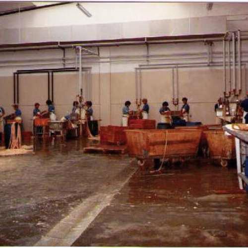 Lavorazione corpi bagetta: primi anni '90