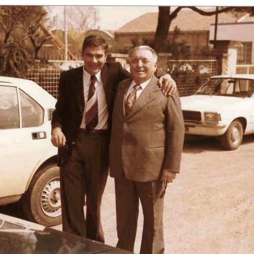 Cesare Poles (a sx) e Mimmo Richeldi